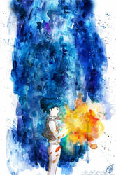 The boy that swallowed a Falling Star... by mikriDeb