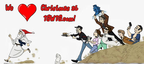 We Love Christmas At TGWTG.com by Expression