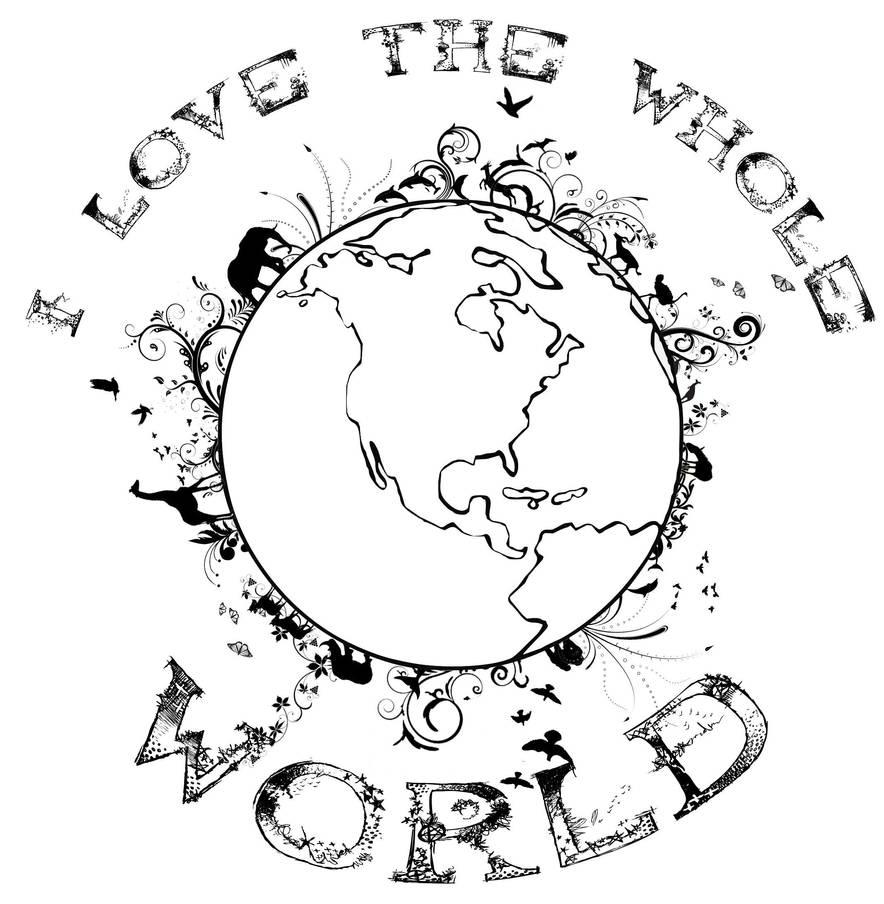 I Love the Whole World by bigfrogplano