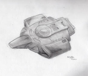 U.S.S. Defiant by Gargoyle-Warrior
