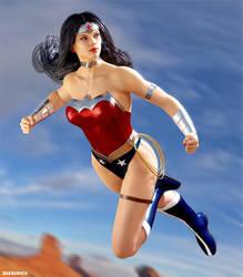 Wonder Woman - New 52 by ZabZarock