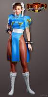 Chun Li (Street Fighter III) by ZabZarock