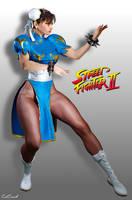 Chun Li - Street Fighter II by ZabZarock
