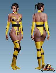 Tanya - Mortal Kombat 4 by ZabZarock