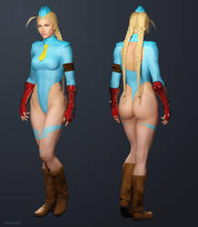 Cammy - Street Fighter Alpha by ZabZarock