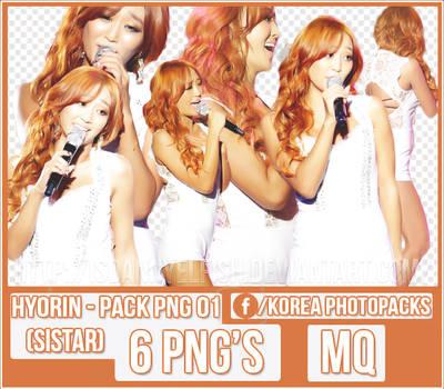 Hyorin (SISTAR) - PACK PNG#01 by JeffvinyTwilight