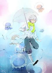 jellyfish prince by Suikka