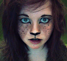 Faun Makeup Test by FloppyKittens