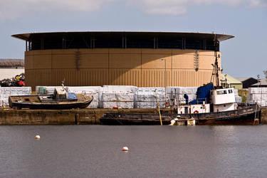 Abandoned Boats II by DundeePhotographics