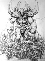 Naga (Hex The Lost Tribe) by keucha
