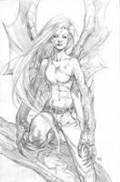 Kickstarter Commission Darkchylde by keucha