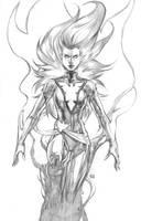 Kickstarter Commission Dark Phoenix by keucha