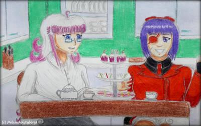 A Spot of Afternoon Tea by MelancholyCyborg1