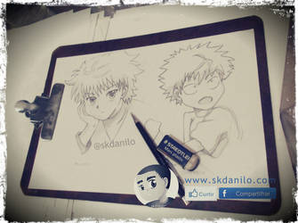 Killua | Hunter x Hunter by skdanilo