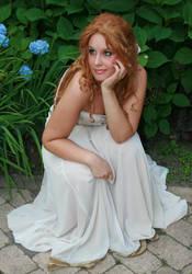 White dress 39 by MarjoleinART-Stock