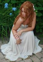 White dress 41 by MarjoleinART-Stock