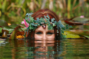 Water Lilies 16 by MarjoleinART-Stock