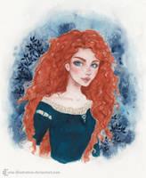 Merida by ARiA-Illustration