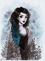 Day3 Inktober by ARiA-Illustration