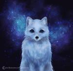 Arctic Fox by ARiA-Illustration