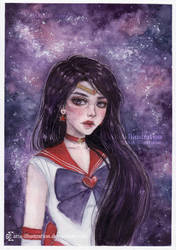 Sailor Mars by ARiA-Illustration