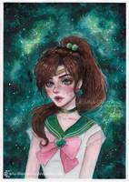 Sailor Jupiter by ARiA-Illustration