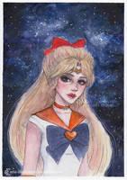 Sailor Venus by ARiA-Illustration