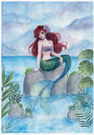 The little mermaid by ARiA-Illustration