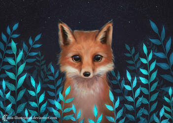 Fox by ARiA-Illustration