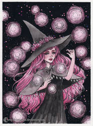Magical orbs- Day 2. Inktober18 by ARiA-Illustration