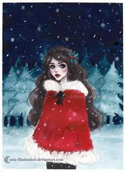 Winter wonderland by ARiA-Illustration