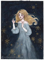 Silent Night by ARiA-Illustration