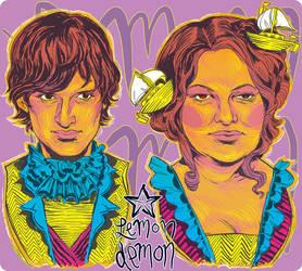 Lemon Demon - Neil and Alora by mysteryming