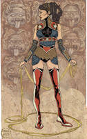 Wonder Woman Redesigned by mysteryming