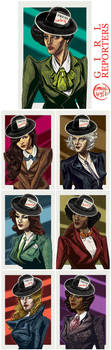 Girl Reporters by mysteryming