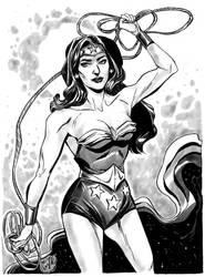 Boston Comic Con Pre-Commission, Wonder Woman by mysteryming