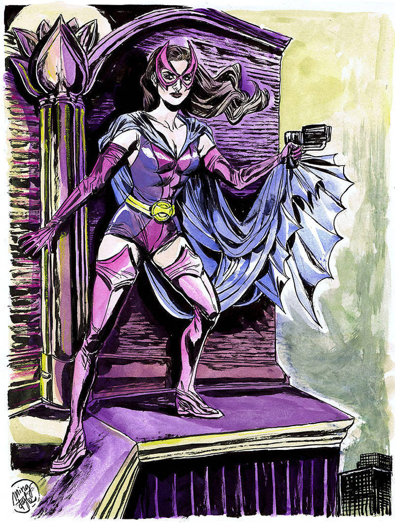 HeroesCon '12 pre-commission: Huntress by mysteryming