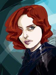 Black Widow by mysteryming
