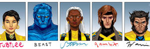 5 Favorite X-Men by mysteryming