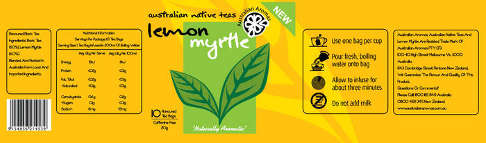 Australian Native Teas- Lemon by Out-House