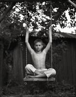 boy and swings by dakiukas