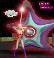 Ultra Woman vs Starro: Finale by ladytania