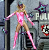 Star Sapphire Versus Starro by ladytania
