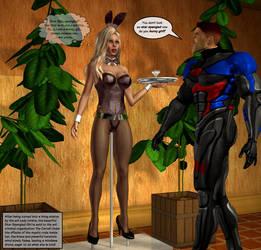The Art Exhibit - Alternate Ending  for SSG by ladytania