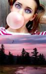 Bubble Gum Daze by Emerald-Depths