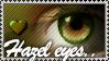 Hazel Eyes stamp by Emerald-Depths