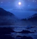 Moonrise - Premade Background by Emerald-Depths