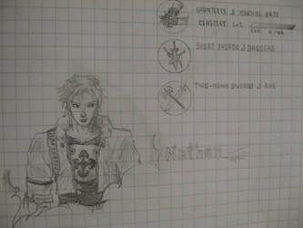 Nathan Castlevania COTM by SomaCruzFirm