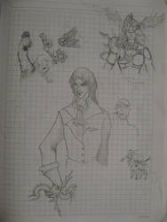 Devil Summoner Castlevania by SomaCruzFirm