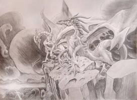 Twilight Dragons by Zenmuron